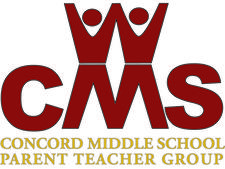 Concord Middle School PTG - 2017 logo