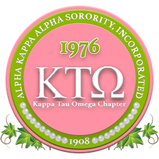 Alpha Kappa Alpha Sorority, Inc., Kappa Tau Omega Chapter logo