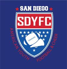 San Diego Youth Football and Cheer logo