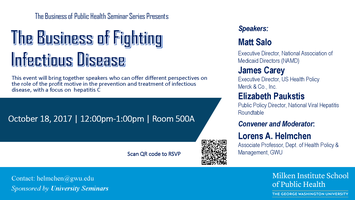The Business of Fighting Infectious Disease