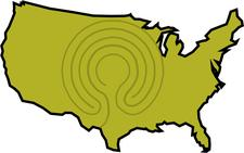 Clive Johnson (Labyrinth Around America) logo