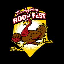Thanksgiving HoopFest  logo