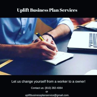 Uplift Business Plan Services logo
