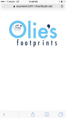 Olie's Footprints logo