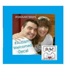 S.M.A.A.R.T.Mom (Strong Mothers Altering Autism's Reality Together) logo
