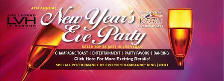 New Years Eve 105.7 The Oasis 4th Annual NYE Party...