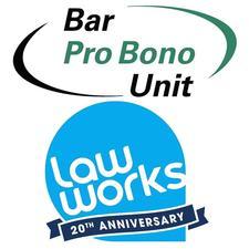 Bar Pro Bono Unit and LawWorks logo