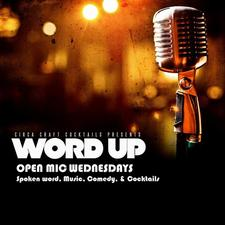 Word Up Open Mic logo