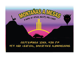 Montañas a Mesas - A Game of Speed Agility and Flight...
