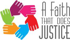 A Faith That Does Justice /  Una Fe Que Hace Justice logo