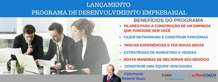 Lançamento Programa de Desenvolvimento Empresarial -...