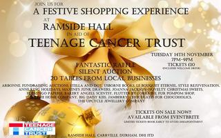 Festive Shopping Experience in aid of Teenage Cancer Tr...
