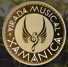 Virada Musical Xamânica logo
