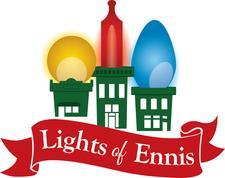 Lights of Ennis logo