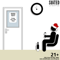 Suited Lifestyle Office Holiday Party