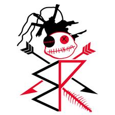 R-e-d-B-l-a-c-k-Curation. logo
