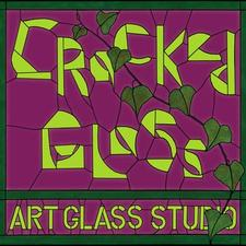 Cracked Glass Art Glass Studio  logo