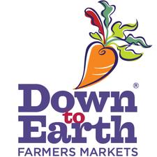 Down to Earth Rye Farmers Market logo