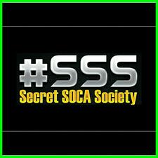 #SSS Secret Soca Society  logo