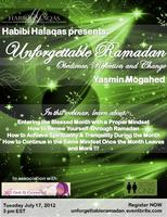 Webinar: Unforgettable Ramadan - Obedience, Reflection...