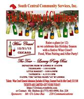 The 12 Wines of Christmas /  Wine Crawl & Gourmet Food