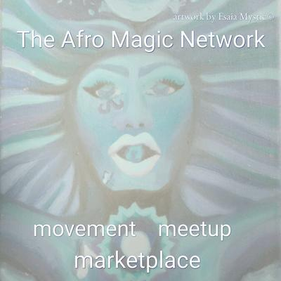 The Afro Magic Network logo