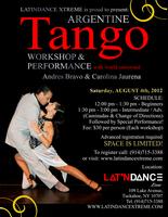 TANGO WORKSHOP & PERFORMANCE