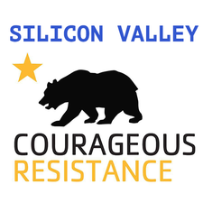 Silicon Valley Courageous Resistance logo