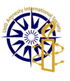 University of Greenwich Amnesty International Society logo