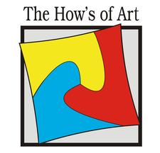 Mrs. Monika - The How's of Art. logo