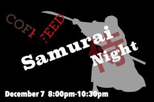 SAMURAI NIGHT with SAKE at COFFEED