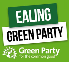 The Ealing Green Party logo
