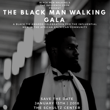 Black Men Walking, Inc. and The Influence Crew logo