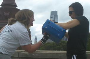 Outdoor Kickboxing Bootcamp Class (July 25)