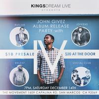 "John Givez ""4 Seasons"" Release Concert"