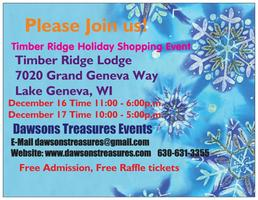 Timber Ridge HOLIDAY SHOPPING EVENT