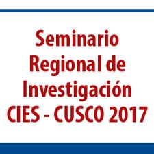 Seminario Regional de Investigación CIES - CUSCO 2017 logo
