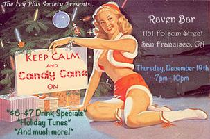 SF: Holiday Party 12.19.13 @ Raven Bar