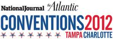 National Journal & The Atlantic at 2012 Conventions logo