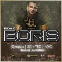 12.27 // Habitat LA Presents: BORIS (SCI+TEC, Tronic,...