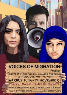 Voices of Migration Team: Renaissance One and Poetics logo