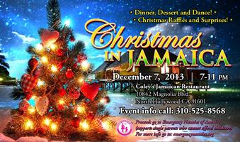 """Christmas in Jamaica"" holiday fundraiser dinner"