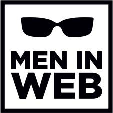 Men in Web logo