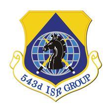 543 ISRG Morale Team logo