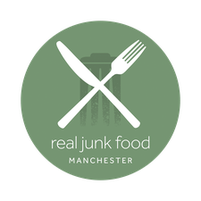 Real Junk Food Manchester  logo