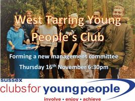 West Tarring Young People's Club - Steering Group