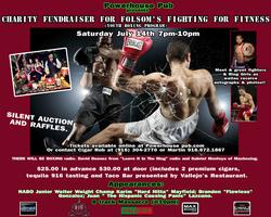 Charity Youth Boxing Fundraiser/ Cigar event