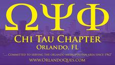 Omegas of Orlando ~ Chi Tau Chapter logo