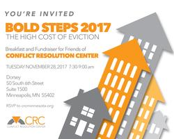 BOLD STEPS 2017, Minneapolis: The High Cost of...