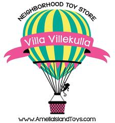 Villa Villekulla Neighborhood Toy Store logo